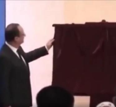 ویدئو / سوتی های اولاند رئیس جمهور فرانسه!