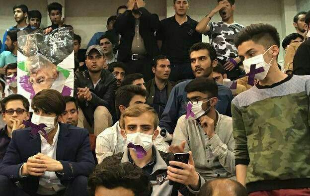حاشیه های سفر روحانی به ارومیه + فیلم و عکس