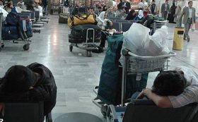 فروش اضافی بلیط و جاماندن ۶۰ مسافر از پرواز در ارومیه!
