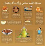 توصیه های پزشکی برای تغذیه روزه داران/ نوشیدن آب هنگام افطار خطرناک است