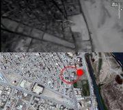 موشکهای سپاه در کجا فرود آمدند؟ + تصاویر ماهوارهای