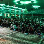 احیای شب بیست و سوم ماه رمضان در حسینیه ثارالله ارومیه