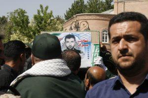 گزارش تصویری/ تشیع پیکر مطهر شهید یاسین قنبری
