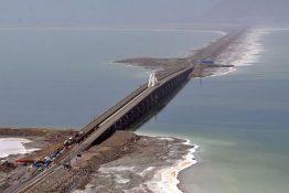 افزایش احتمال تخریب میان گذر دریاچه ارومیه