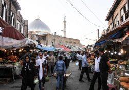 شور و نشاط ۱۰۰ ساله در بازار کومور میدانی ارومیه + عکس