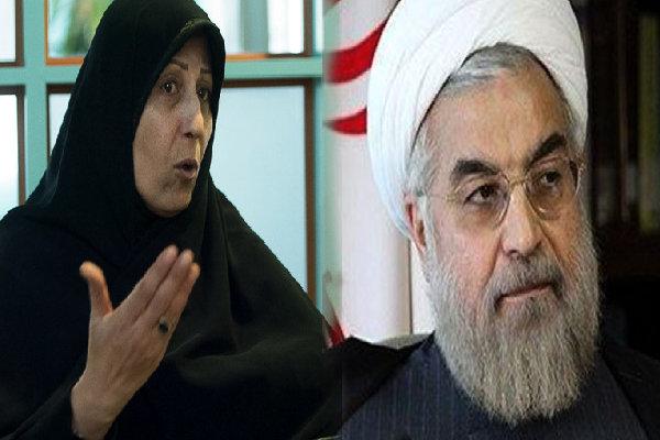 حمله دختر مرحوم رفسنجانی به روحانی/ روحانی شبیه هاشمی نیست!