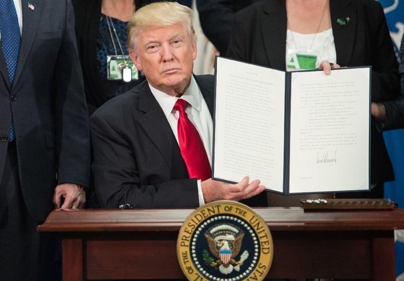ترامپ طرح تحریمهای ضدایرانی را امضا کرد
