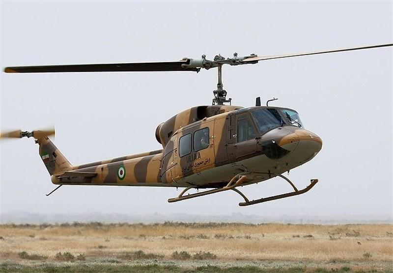 یک فروند بالگرد ارتش در ارومیه سقوط کرد