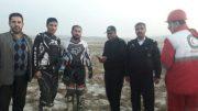 دو فرد گرفتار در باتلاق های اطراف دریاچه ارومیه از مرگ نجات پیدا کردند
