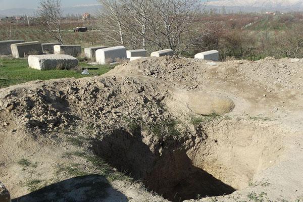 جولان قاچاقچیان عتیقه در تپه باستانی قزل عاشق ارومیه