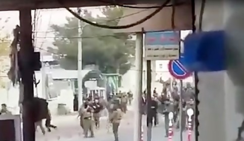 فیلم / تیراندازی نیرهای اقلیم کردستان عراق به سوی تظاهرات کنندگان