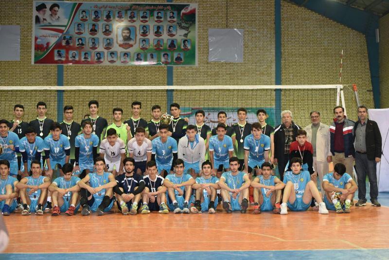 برگزاری فینال مسابقات والیبال نوجوانان بسیج ارومیه،گرامیداشت دهه فجر
