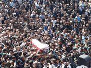 تصاویر/ مراسم تشییع و خاکسپاری پیکر حجت الاسلام حسنی در ارومیه
