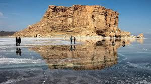 تراز دریاچه ارومیه ۳۵ سانتیمتر بالاتر از سال گذشته است
