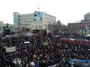 تصاویر/ حضور پرشور مردم در راهپیمایی ۲۲ بهمن ارومیه