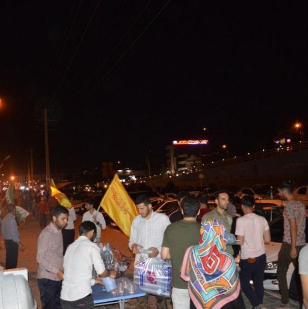 گزارشی از یک جشن مردمی برای اقتدار ملی کشور