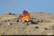 تصاویر/ مرحله اصلی رزمایش الی بیت المقدس بسیجیان ارومیه
