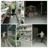 ضد عفونی گسترده معابر شهری و روستای شهرستان ارومیه توسط بسیجیان