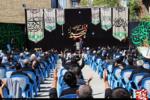 مراسم عزاداری تاسوعای حسینی در هئیت عزاداران مسجد جنرال ارومیه + تصاویر