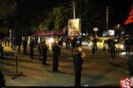 زنجیر زنی هئیت های عزاداری در سطح شهر ارومیه