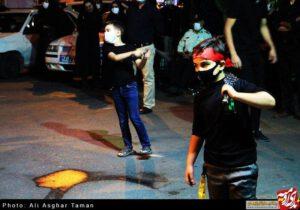 مراسم عزاداران دسته سجادیه مسجد حاج جواد ارومیه