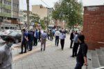 تجمع اعتراضی رانندگان بخش خصوصی اتوبوسرانی شهرداری ارومیه مقابل استانداری آذربایجانغربی